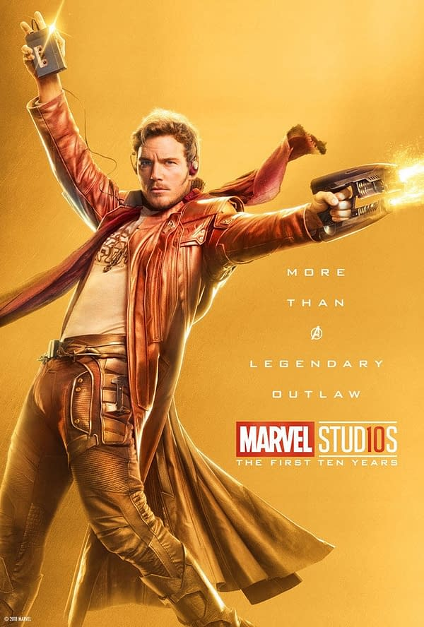 Marvel Studios More Than A Hero Poster Series Star Lord