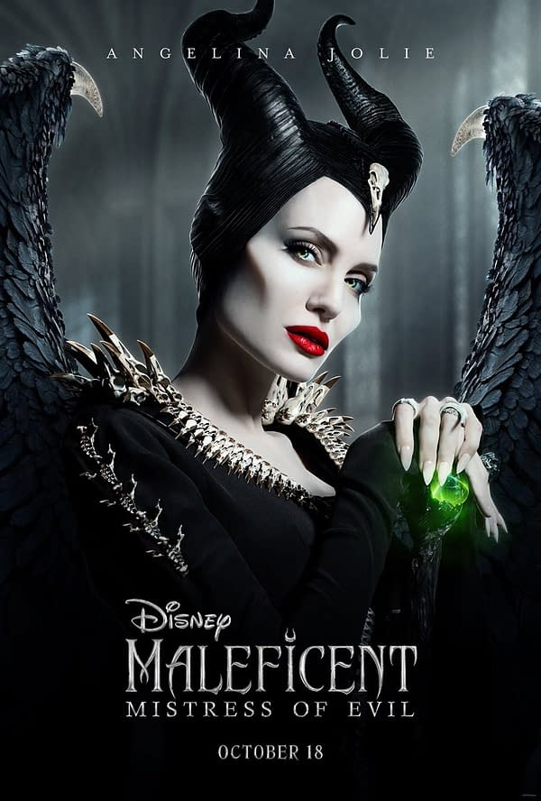 3 Character Posters for Disney's Upcoming 'Maleficent: Mistress of Evil'
