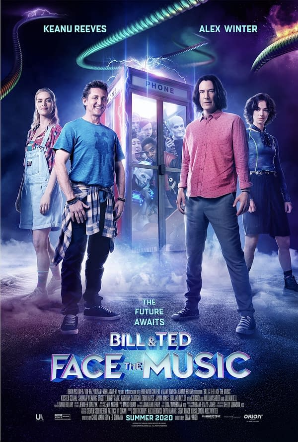 Bill & Ted Face the Music Brings Old Friends, New Faces [Trailer]