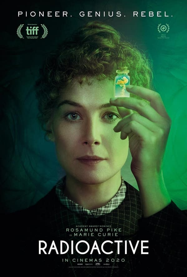 Watch The Trailer For New Rosamund Pike Drama Radioactive