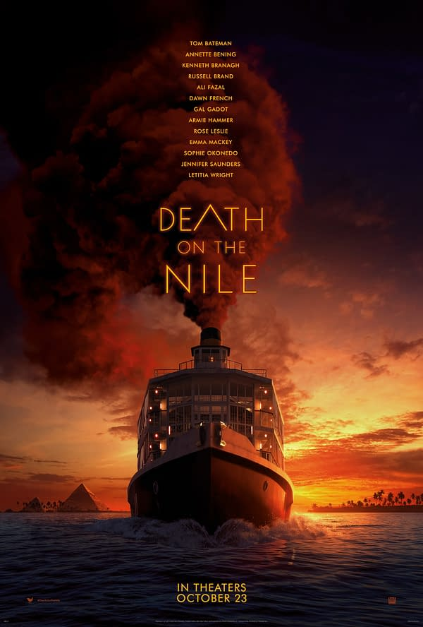 Watch The Trailer For Death On The Nile Here, In Theaters Oct. 23