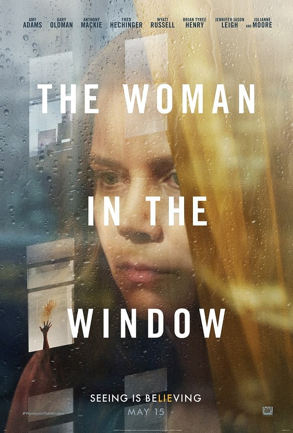 Amy Adams Flick The Woman In The Window Moves To Netflix