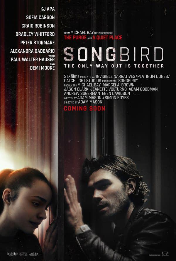 La bande-annonce de Songbird fait ses débuts, les stars du drame pandémique KJ Apa et Sophia Carson