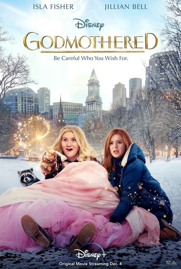 Nouvelle affiche pour la marraine de Disney sortie, sortie le 4 décembre