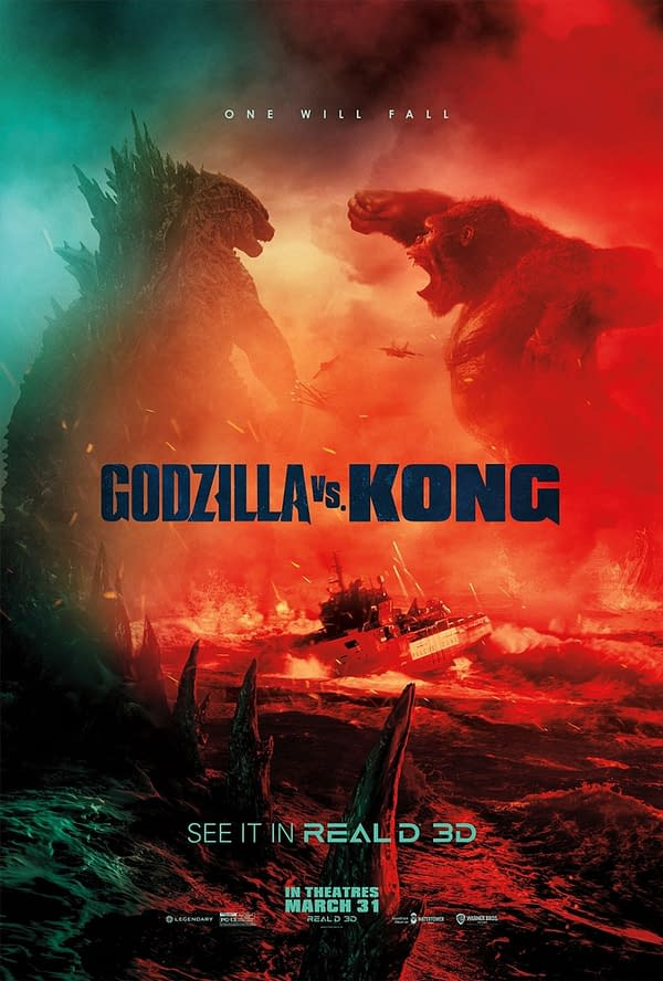 """2 New Posters for Godzilla vs. Kong Promises that """"One Will Fall"""""""
