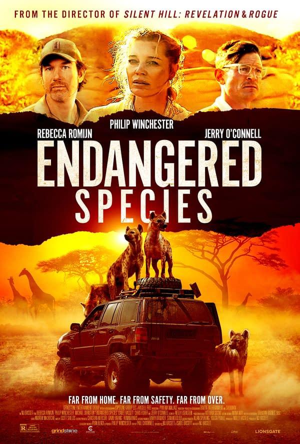 Endangered Species Star Philip Winchester Talks Filming Opportunities