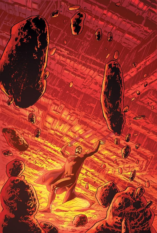 Cover image for SUPERMAN 78 #2 (OF 6) CVR B BRYAN HITCH CARD STOCK VAR