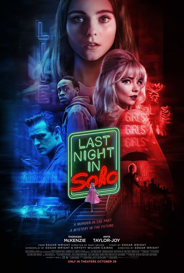Focus Features Releases a New Last Night in Soho Poster