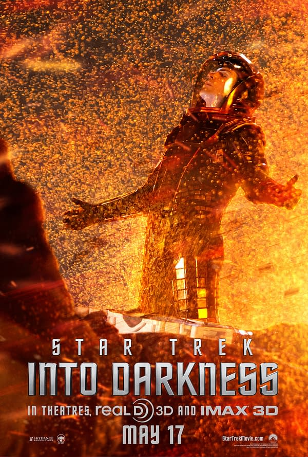 spock star trek into darkness character poster