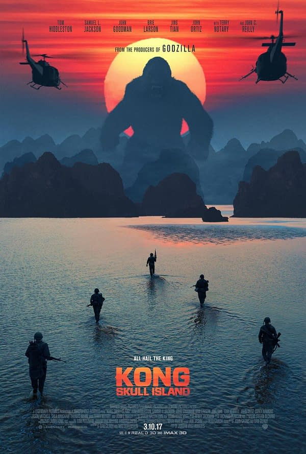 Stop Monkeying Around And Watch The Trailer For Kong: Skull Island