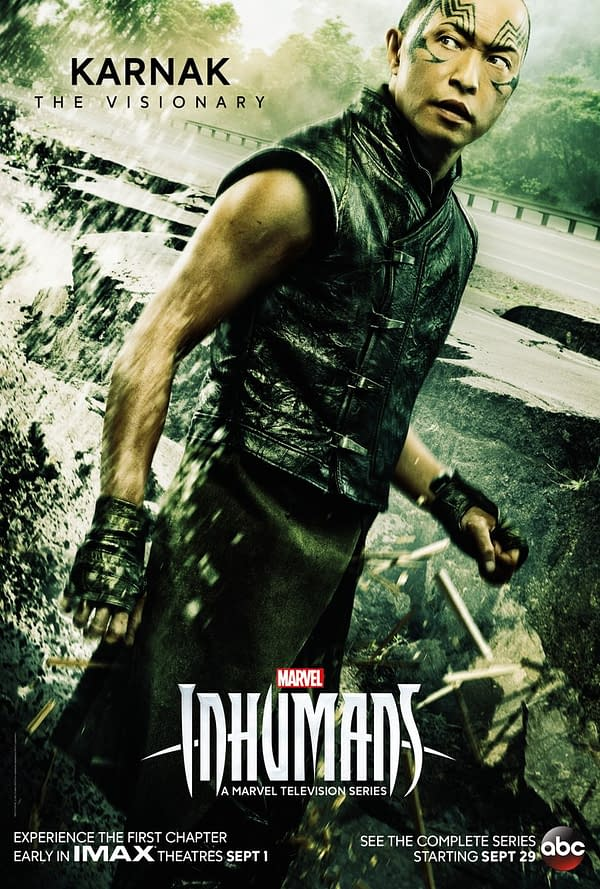 New Character Posters For Marvel's Inhumans… And They're Pretty Good