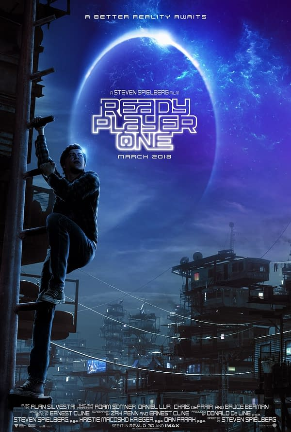 Watch: Livestream with Ernest Cline and New Ready Player One Trailer