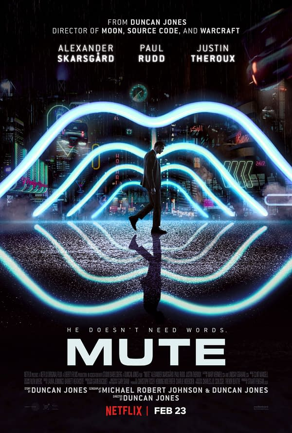 WATCH: First Trailer for Duncan Jones's 'Mute' on Netflix