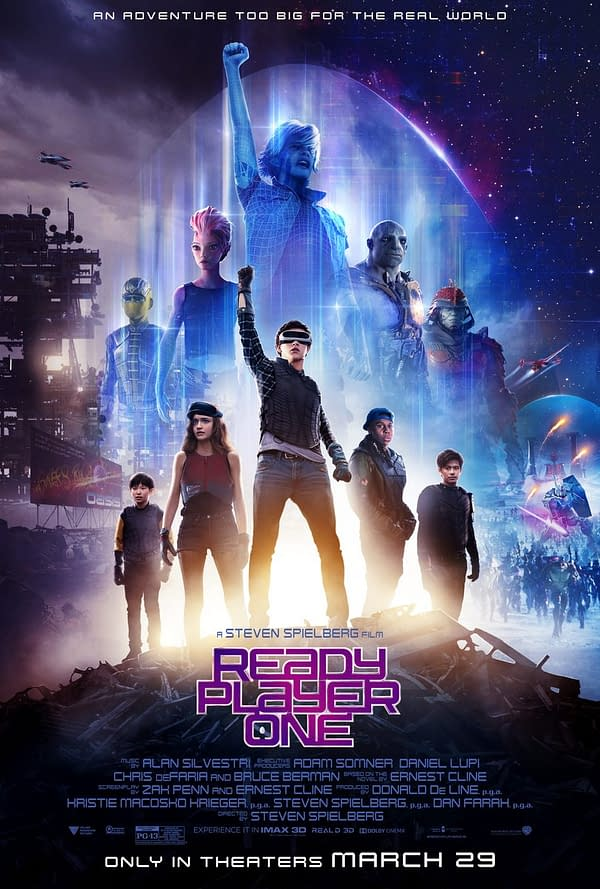 Listen to 'The OASIS' by Alan Silvestri from Ready Player One Soundtrack