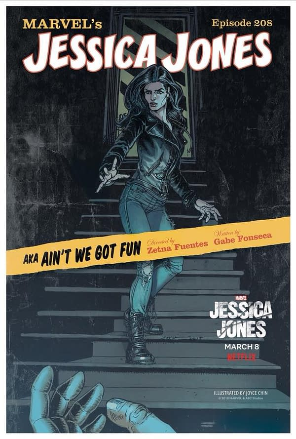 Jessica Jones: 13 Comic Covers Drawn by Women for Season 2 Premiere on International Women's Day