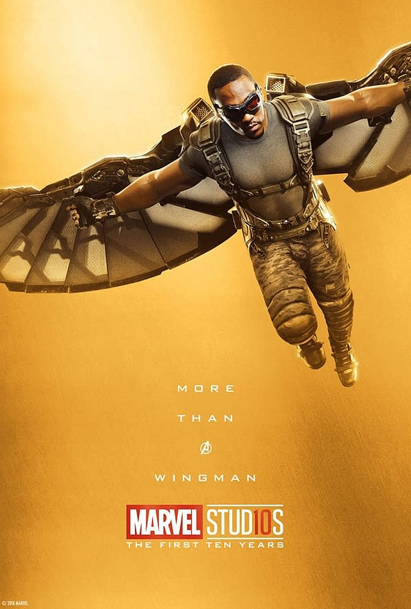 Marvel Studios More Than A Hero Poster Series Falcon