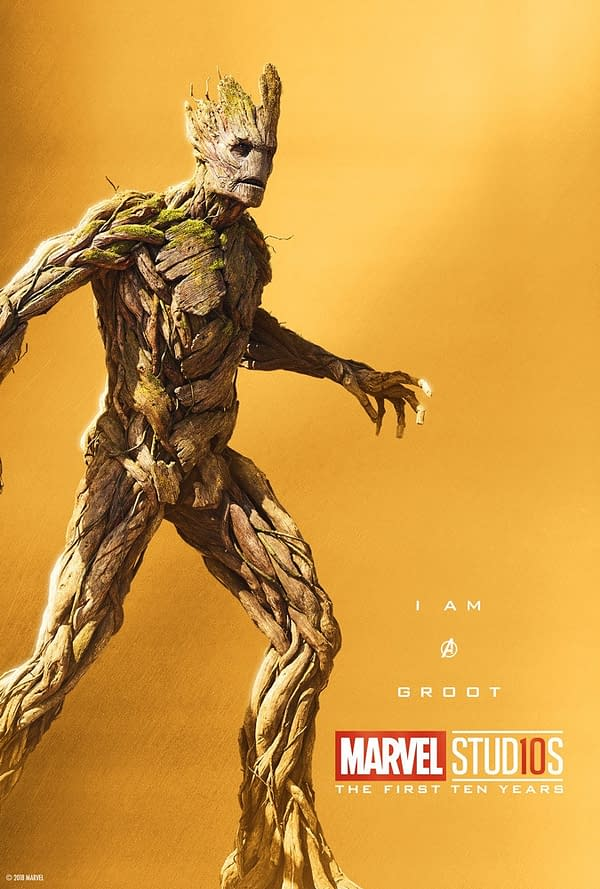 Marvel Studios More Than A Hero Poster Series Groot