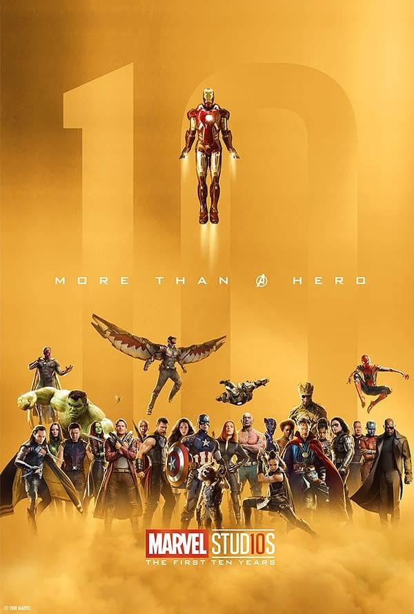 Marvel Studios More Than A Hero Poster Series Group