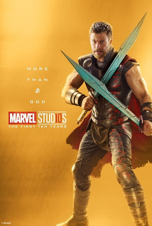 Marvel Studios More Than A Hero Poster Series Thor