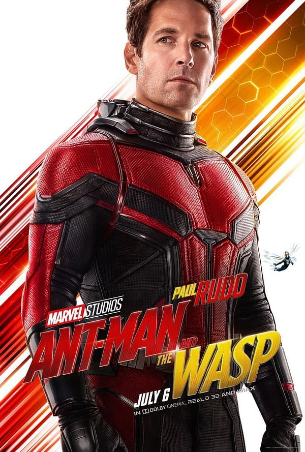 6 Character Posters Released for Ant-Man and the Wasp