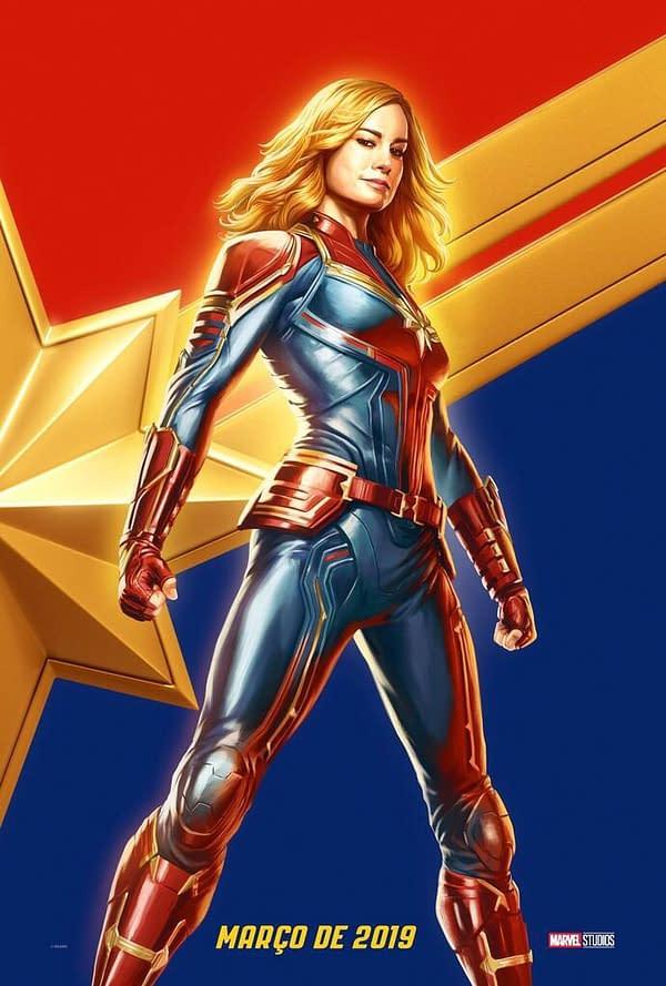 Captain Marvel Can DEFINITELY Lift Mjolnir, Says Brie Larson