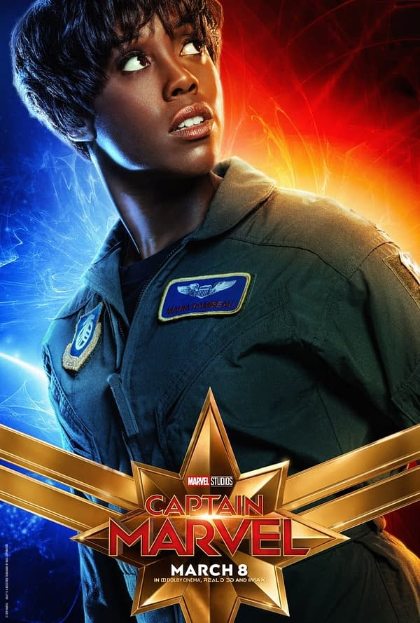 10 BRAND NEW 'Captain Marvel' Character Posters, Including Goose!