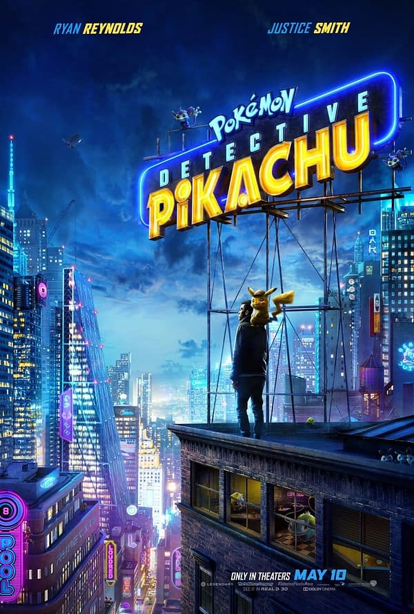 Legendary Pictures Releases 2nd 'Detective Pikachu' Trailer, Poster