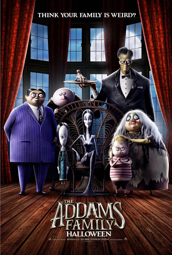First Trailer for 'The Addams Family' Animated Feature Film Hits