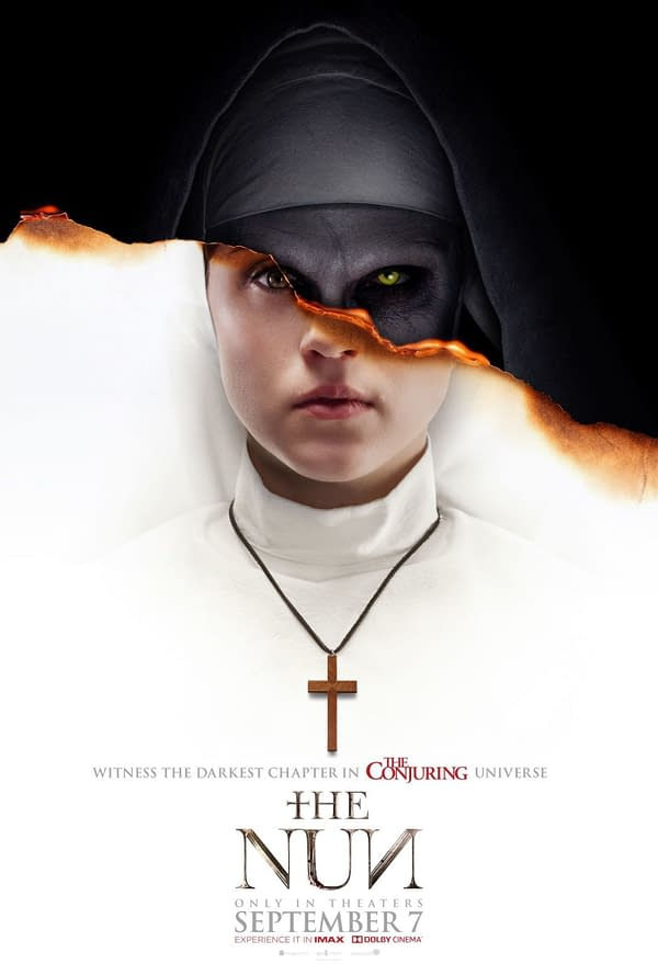 Yasmine Putri Conjures Up a #DCeased #3 Horror Movie Variant With Superman as The Nun