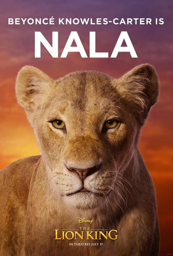 11 Character Posters for Disney's Live-Action 'The Lion King'
