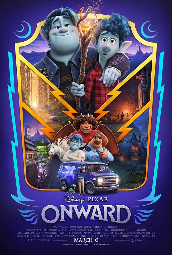 "The New Disney/Pixar ""Onward"" Movie Poster Is Just Too Classy For Me"