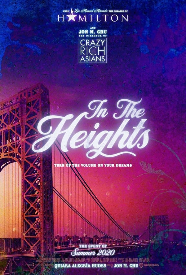 In The Heights will now release in summer 2021.