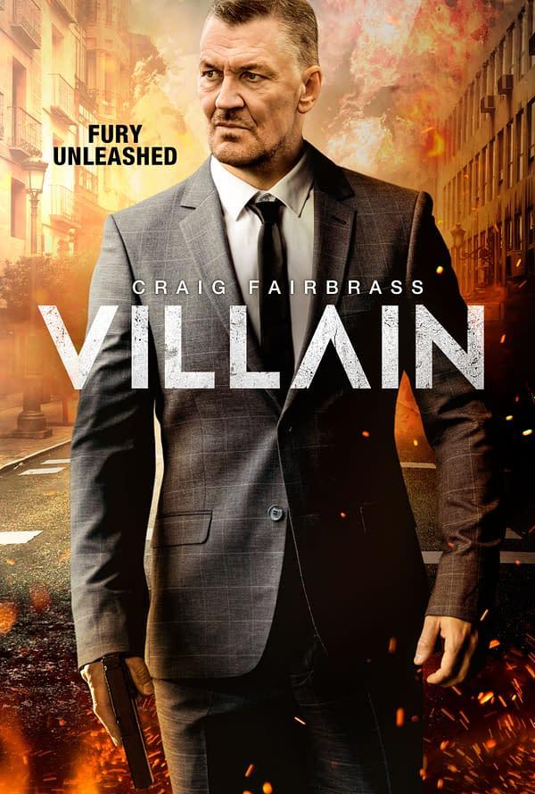 Saban Films thriller Villain debuted its poster.