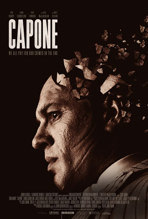 The poster for Capone.
