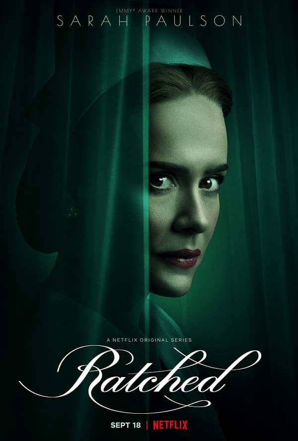 A look at Sarah Paulson in Ratched (Image: Netflix)