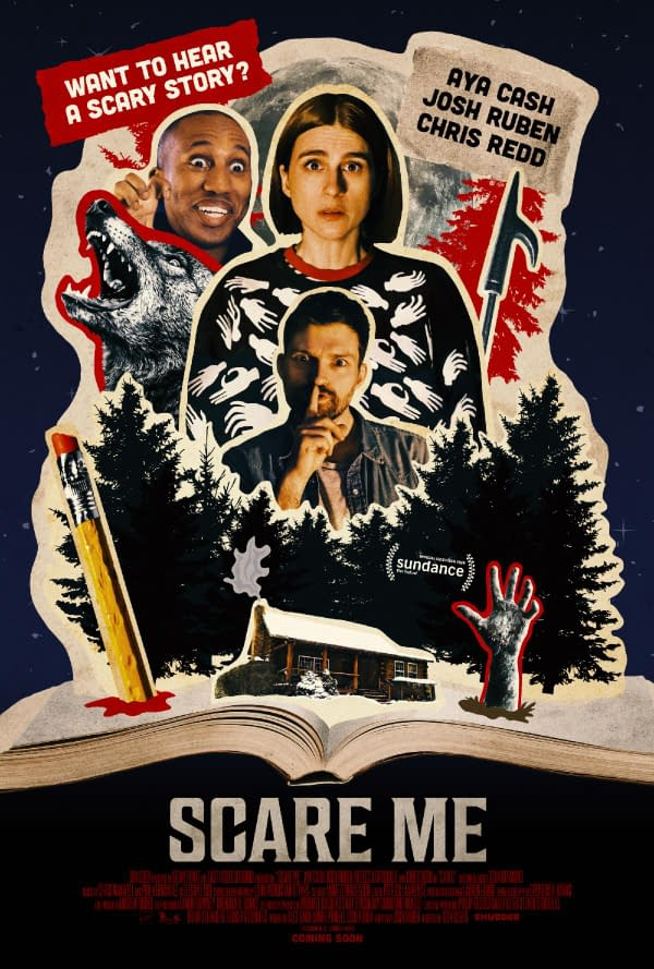 Scare Me Trailer Debuts, With The Film Hitting Shudder October 1st