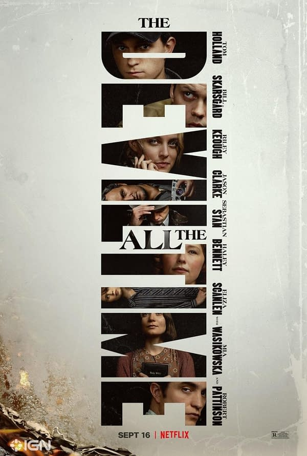The Devil All The Time Debuts Poster, Impressive Cast For Netflix Film