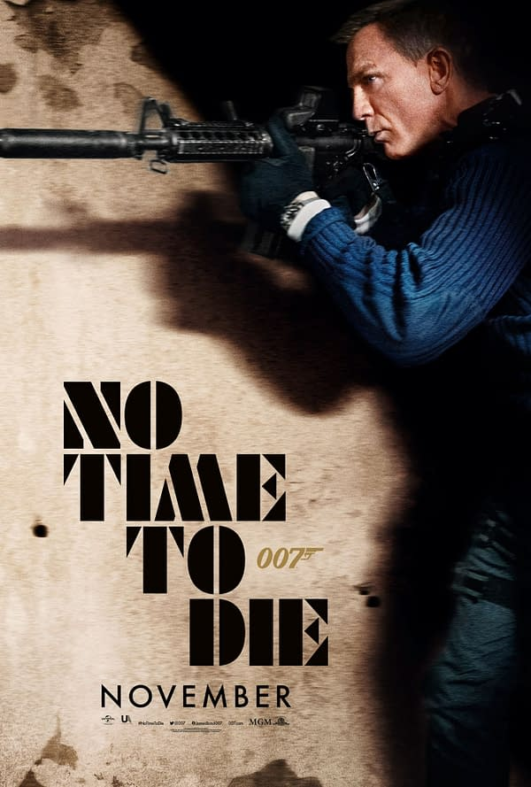 Another New No Time To Die Poster