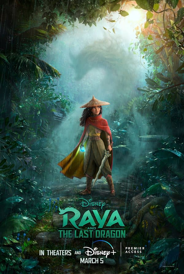 Raya and the Last Dragon Coming to Theaters and PVOD