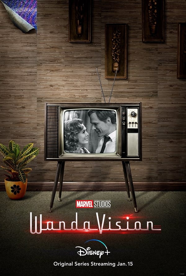 WandaVision debuted new teaser key art (Image: Disney+)