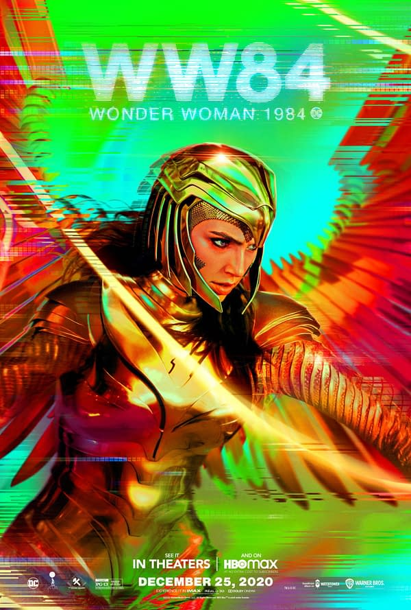 2 New Posters for Wonder Woman 1984