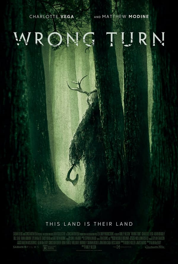 Trailer And Poster For New Wrong Turn Film Debuts, Releasing Soon