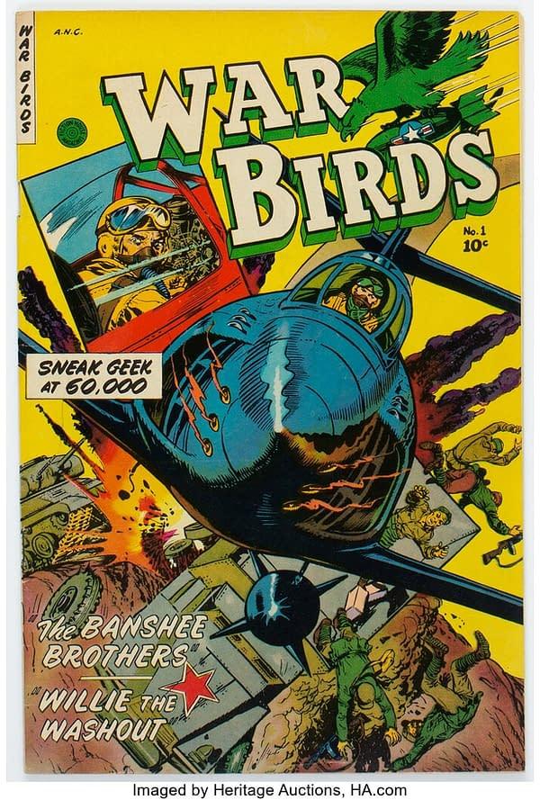 War Birds #1, 1952, Fiction House.