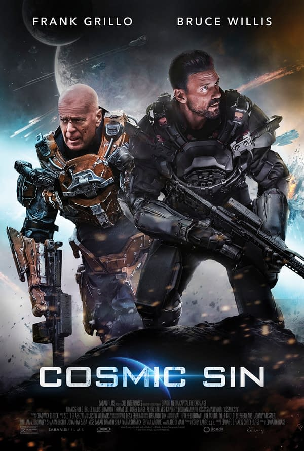 Trailer For Grillo/Willis Film Cosmic Sin Debuts, Out March 12th