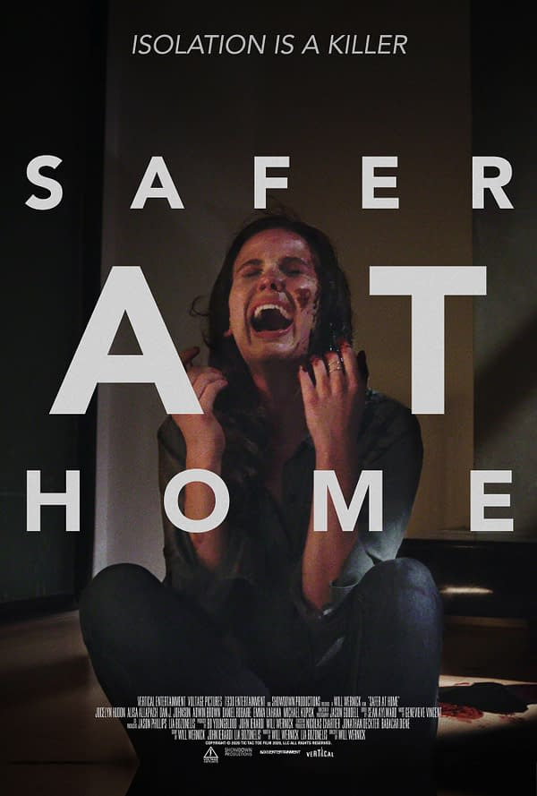 Pandemic Thriller Safer At Home Trailer Debuts, Out On February 26th