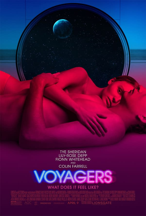 Voyagers Trailer Includes, Sex, Drugs and Chaos in This New Sci-Fi Thriller