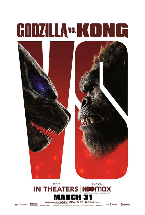 Kong Has An Axe in These New Godzilla vs. Kong Posters