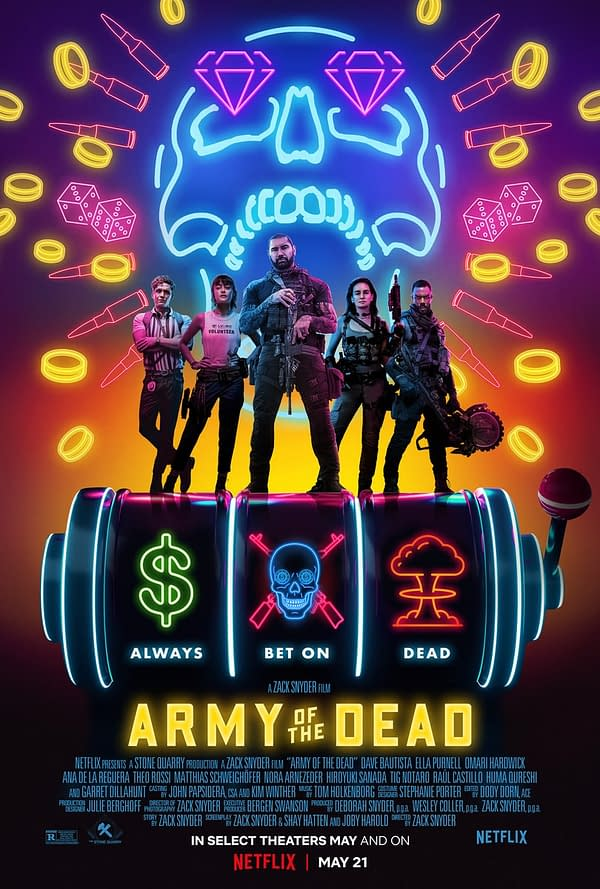 Zack Snyder Shares New Army Of The Dead Poster