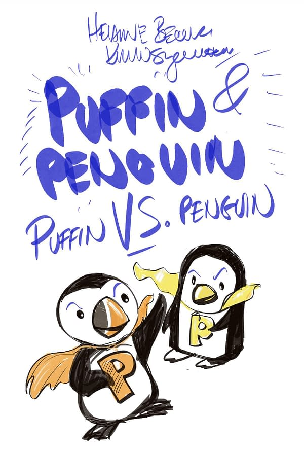 Puffin vs. Penguin OGN by Helaine Becker and Kevin Sylvester