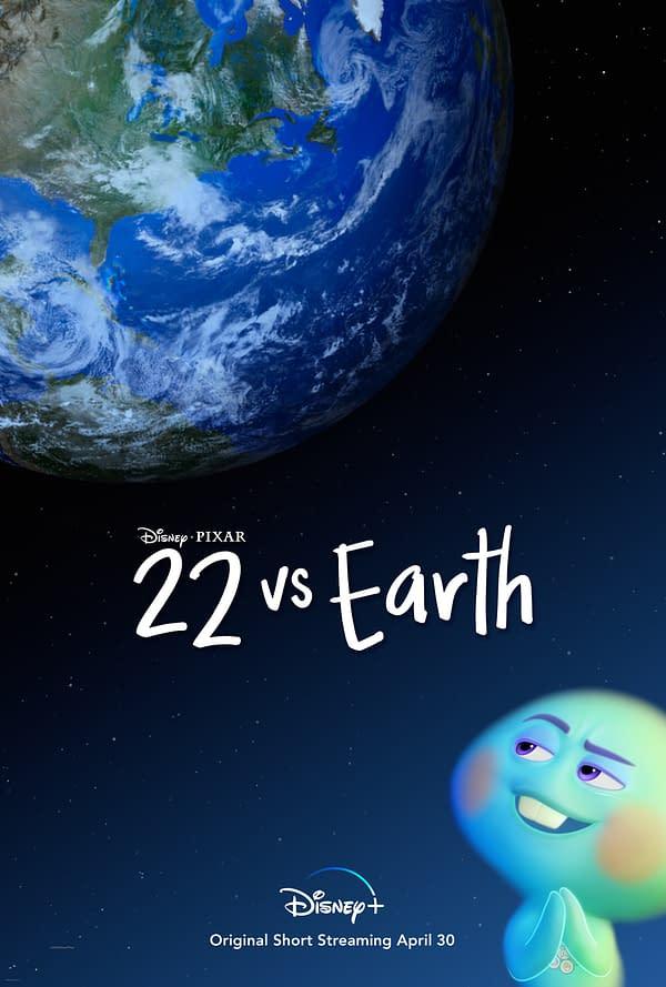 Disney Debuts Soul Short Film 22 Vs Earth Trailer & Poster